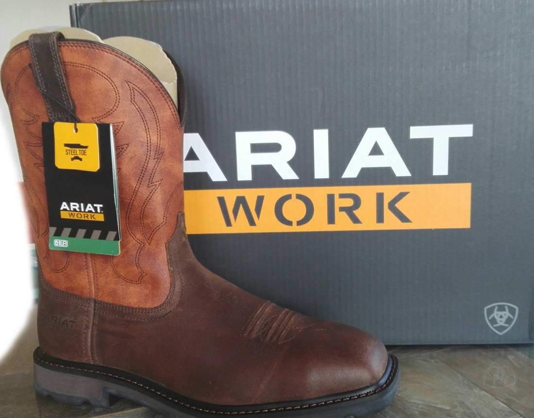 Ariat Groundbreaker Work Boots Steel Toe (43)