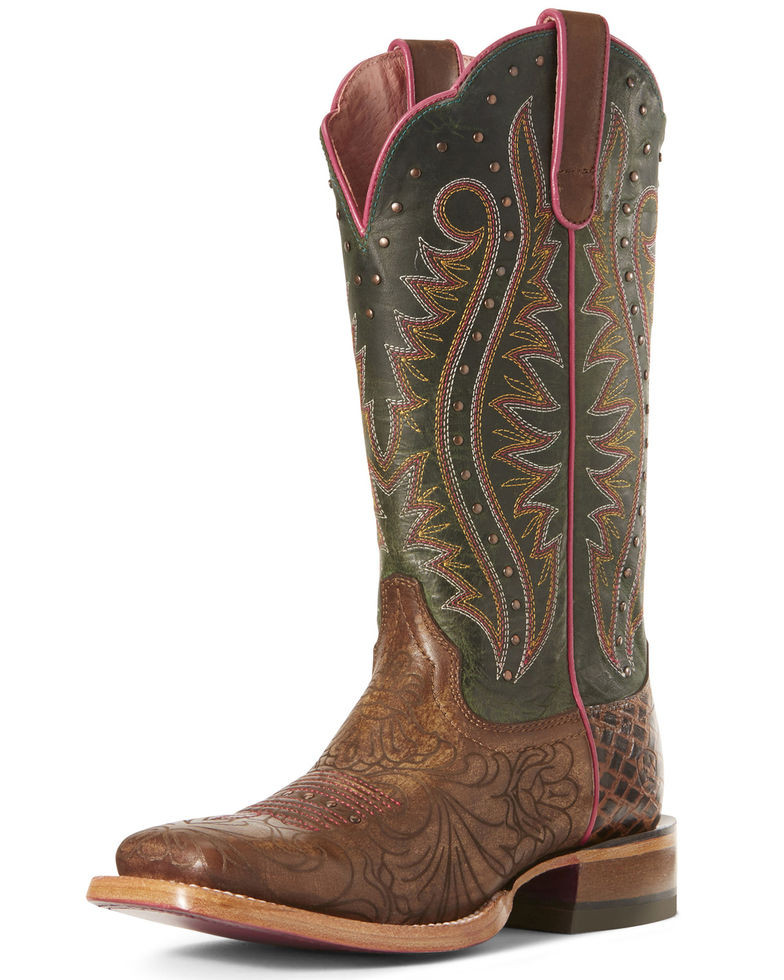 Ariat Montage Floral Green