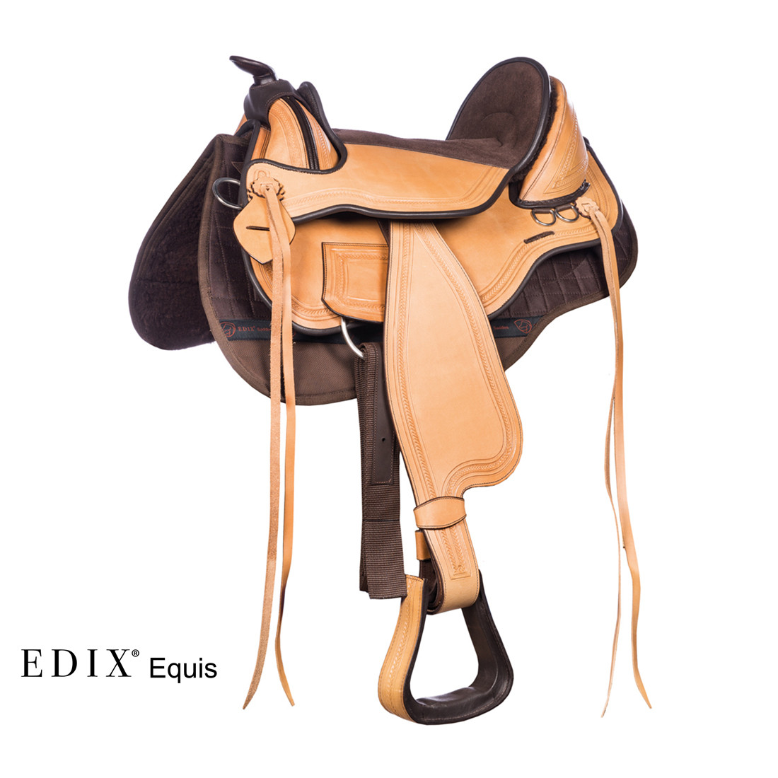 EDIX® Equis (complete set bruin/naturel)