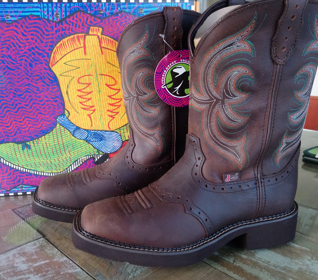Justin Gypsy Cowgirl Boots Square Toe