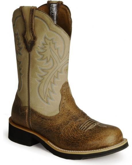 Ariat Showbaby Earth Bone Crackle (laatste paar 37)