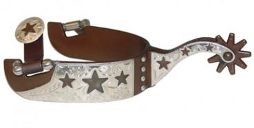 Francois Gauthier Sporen Antique Brown Stars by Metalab