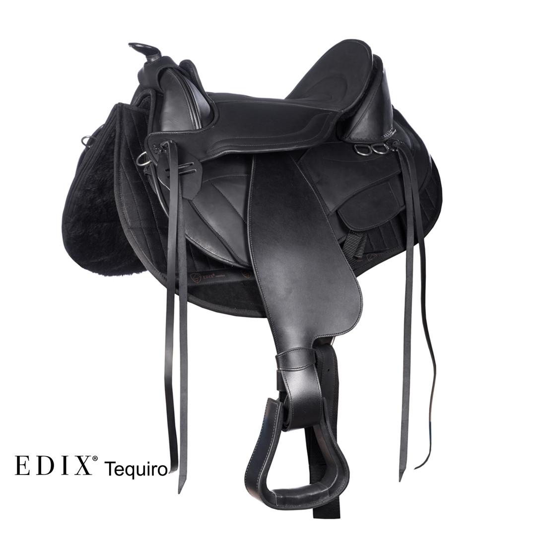 EDIX® Tequiro (complete set zwart)
