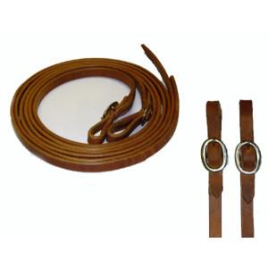 Teugels met gesp Harness Leather