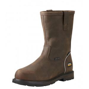 Ariat Men Groundbreaker H2O Work Boots Steel Toe