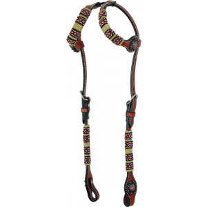 Country Legend Rawhide Terra Beads Double Ear (medium oil)