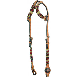 Country Legend Rawhide Terra Beads Double Ear (light oil)