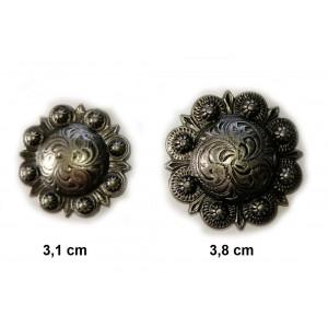 Concho Antique Silver