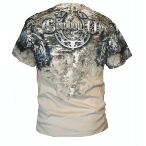 Cowboy Up Shirt Beige