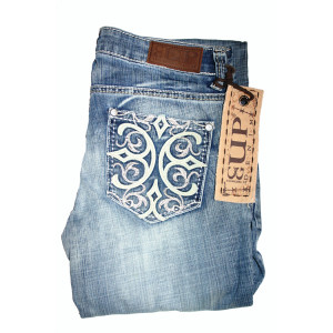 """Cowgirl Up Jeans """"It's Complicated"""" (XL)"""