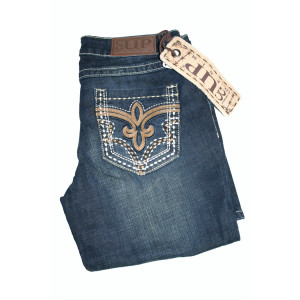 "Cowgirl Up Jeans ""Royal Denim"" (XL)"
