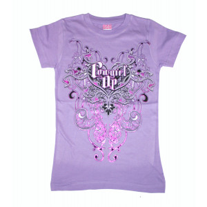 Cowgirl Up Shirt Lila