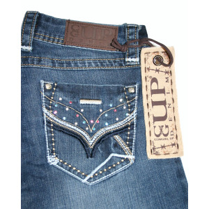 """Cowgirl Up Jeans """"Spring Sparkle"""" (XL)"""
