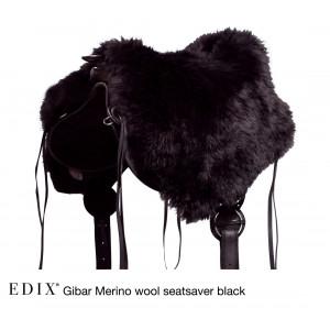 Seat Cover (zadelzitting) van EDIX Merino Wol Lang Haar voor boomloze zadels  *diverse kleuren*