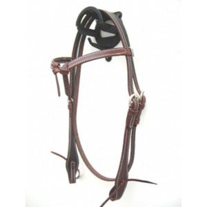 Eenvoudig hoofdstel Futurity Knot Latigo