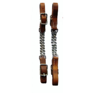 Kinketting Dubbel Harness Leather