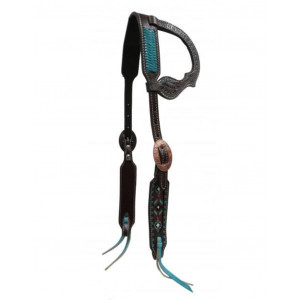 Showman One Ear Argentina Leather